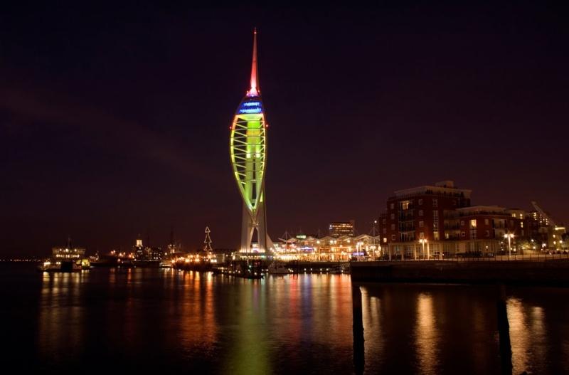 Tour Spinnaker à Portsmouth en Angleterre. 21409910