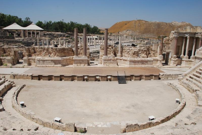 Beït-Shéan (Scythopolis) en Israel. 30921810