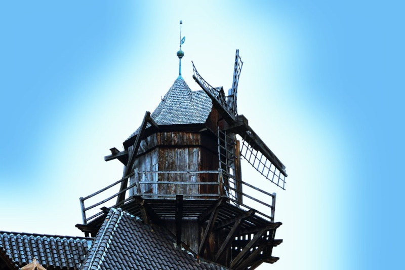 Le moulin du Château du Haut-Koenigsbourg, Orschwiller, France. 79118410