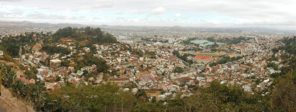Le Palais de la Reine (Rova Manjakamiadana), Tananarive (Antananarivo) à Madagascar. 95725410