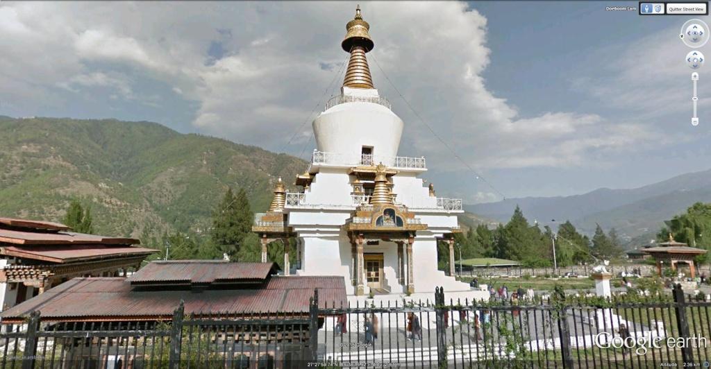 Le Memorial Chörten à Thimphu au Bhoutan. Le_chy11