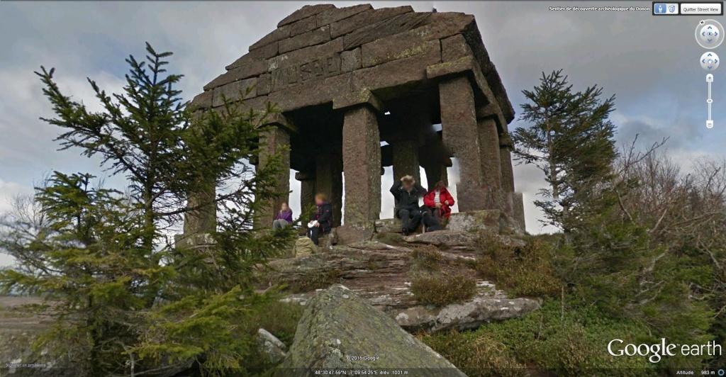 L'ancien Temple du Donon à Grandfontaine en France. Le_don11
