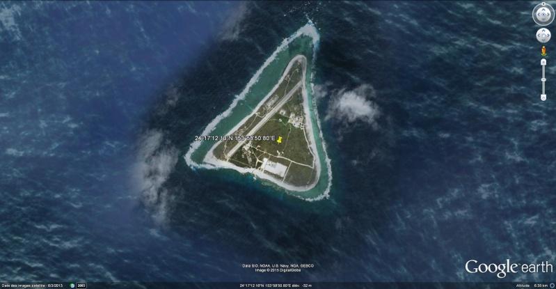 Disparition d'une île (Minamitorishima) - Océan Pacifique Minami10