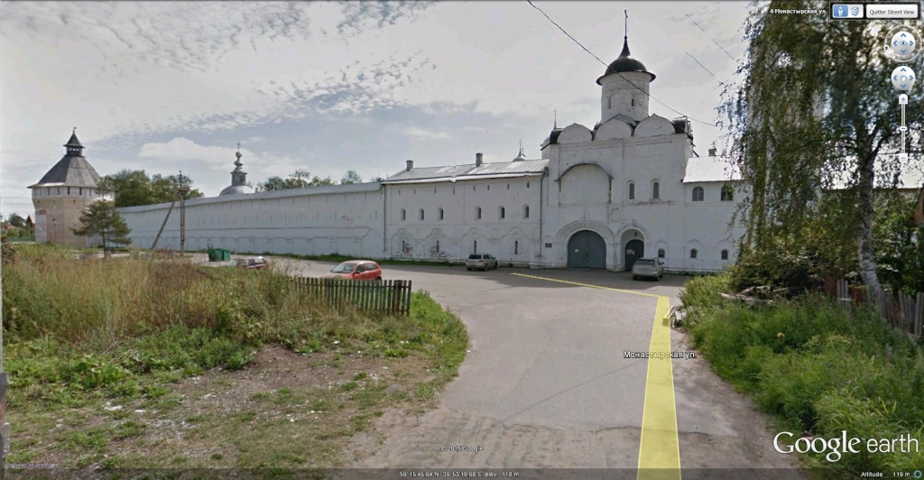 Monastère Spasso-Priloutsky à Vologda, Oblast de Vologda en Russie. Monast11