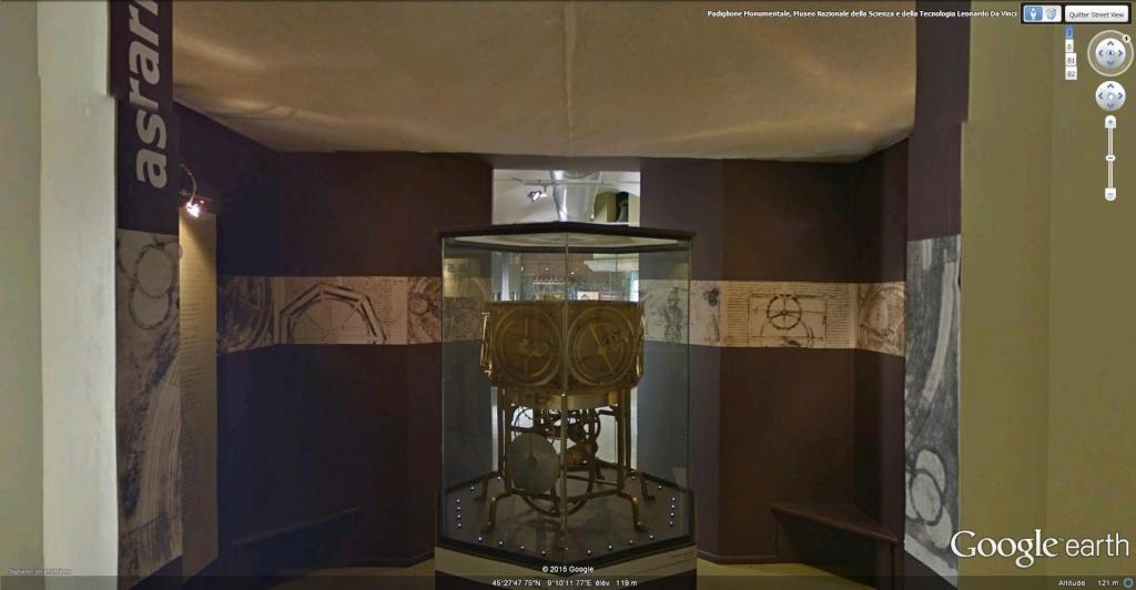 """Musée national des sciences et des techniques - """"Léonard de Vinci"""" à Milan en Italie. Musye_12"""