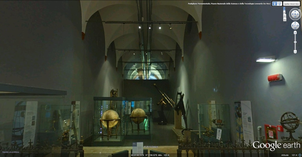 """Musée national des sciences et des techniques - """"Léonard de Vinci"""" à Milan en Italie. Musye_13"""