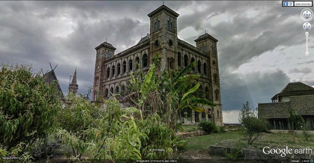 Le Palais de la Reine (Rova Manjakamiadana), Tananarive (Antananarivo) à Madagascar. Rova_012