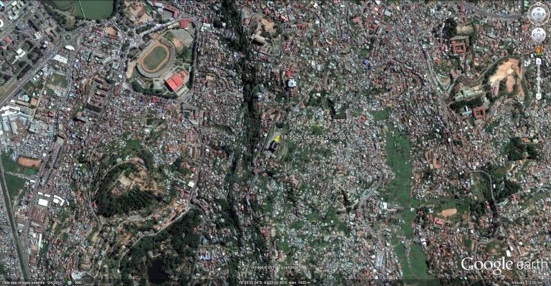 Le Palais de la Reine (Rova Manjakamiadana), Tananarive (Antananarivo) à Madagascar. Rova_v10
