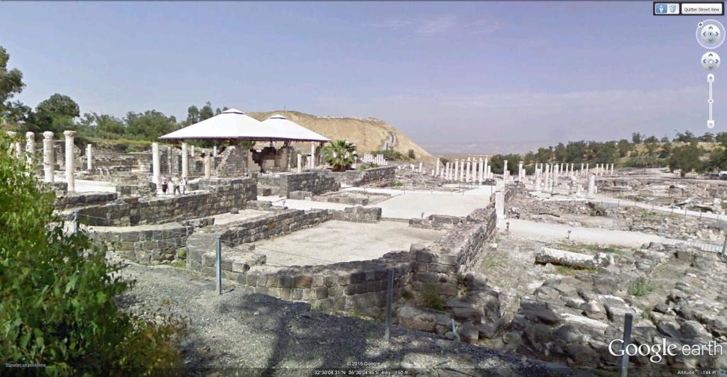Beït-Shéan (Scythopolis) en Israel. Scytho13