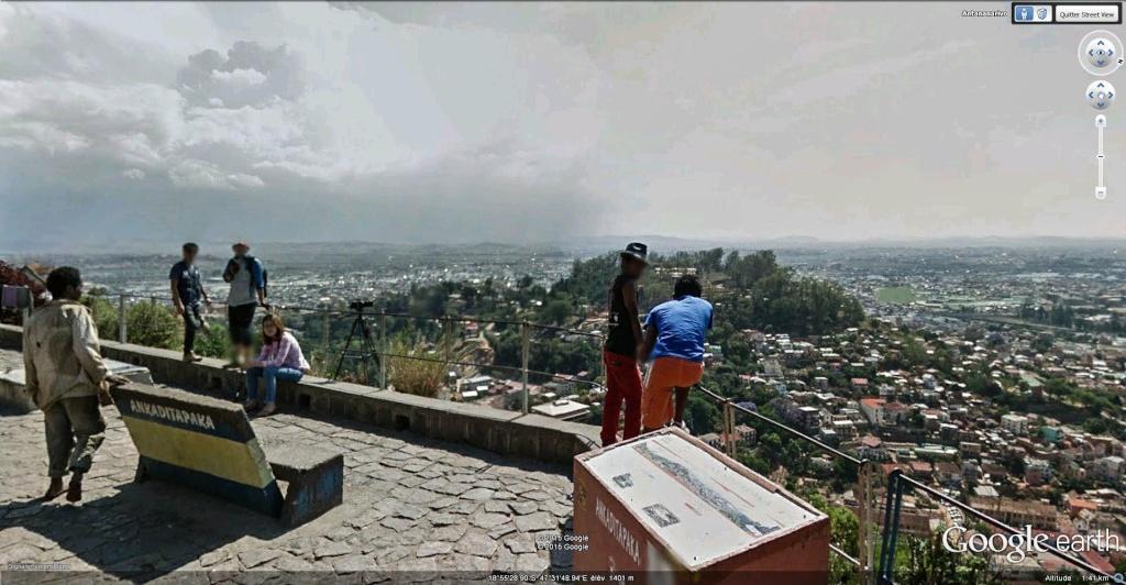 Le Palais de la Reine (Rova Manjakamiadana), Tananarive (Antananarivo) à Madagascar. Tanana10