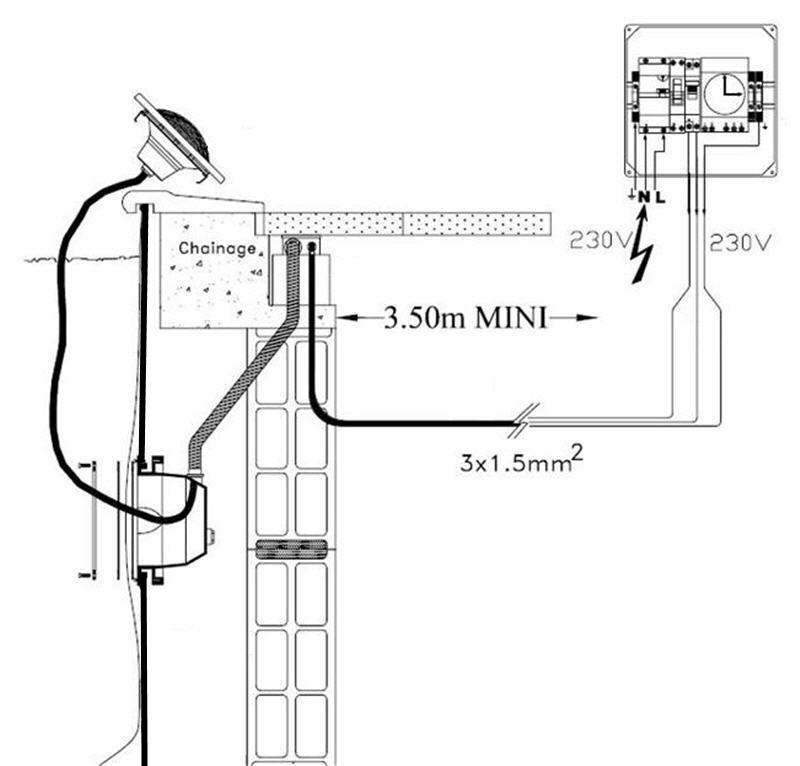 cable projecteur trop court Spot_310