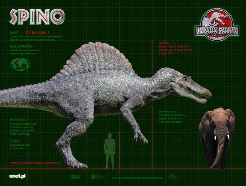 Los animales extintos más impresionantes que han existido Spinos10