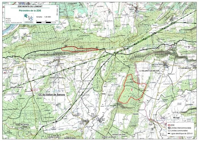 Eolienne sur le Lomont dans le Doubs (25) Plan_c10