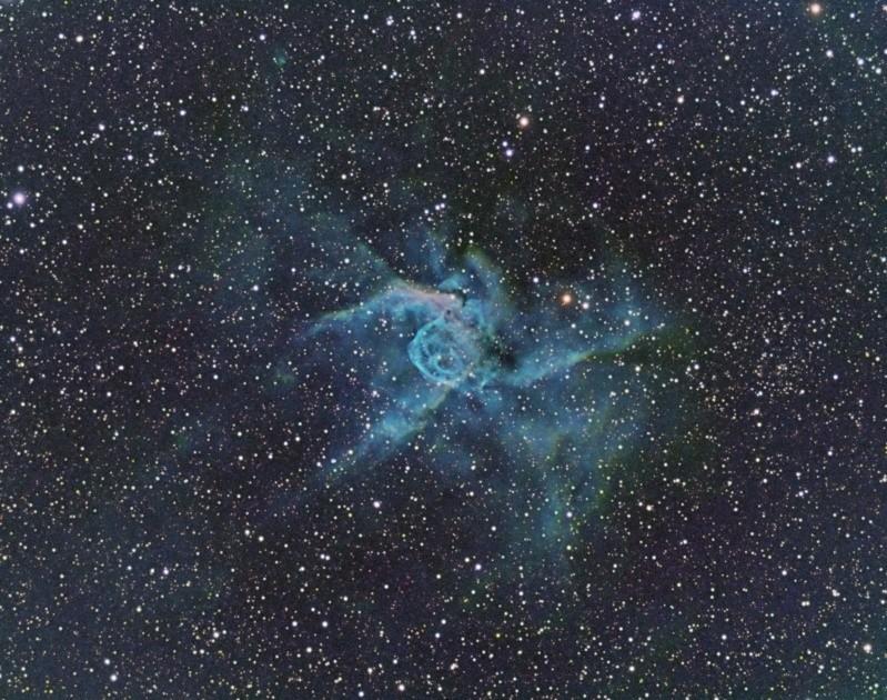Casque bleu de Thor - NGC 2359 - SHO Mixsho10