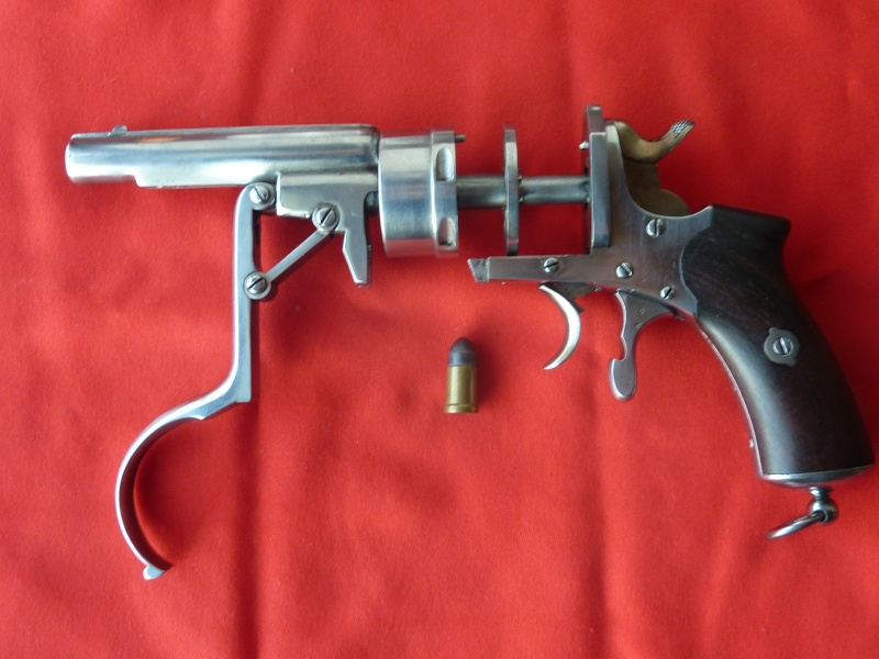 Le revolver GALAND de 1868 en 9 mm Galand17
