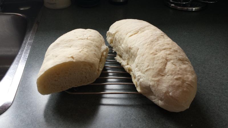 Baguette de pain 20150410