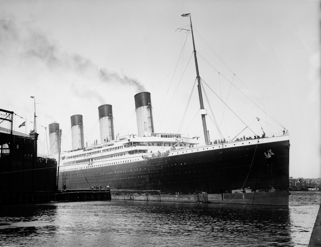 L'arrivée du Titanic à New York - Page 2 Titani10
