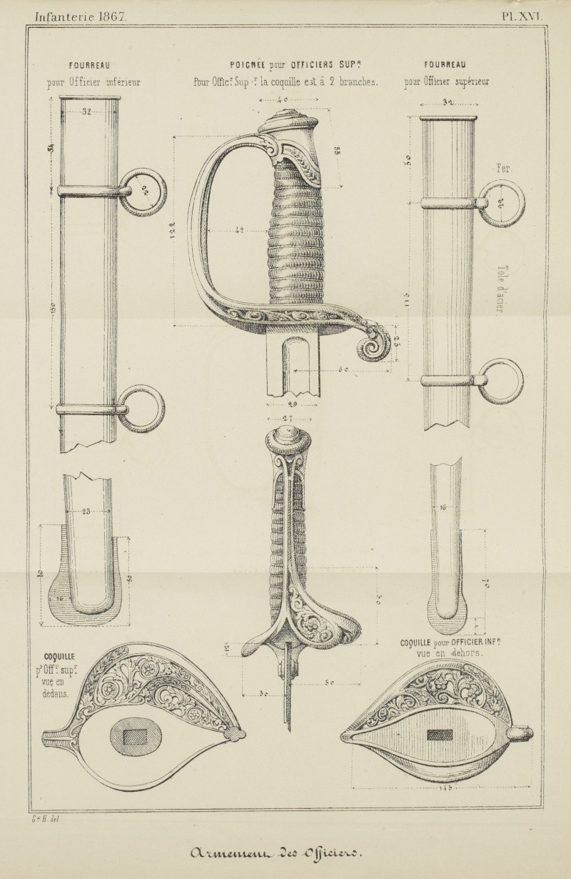 sabre 1855 d'officier supérieur d'infanterie - Page 2 Sabre_10
