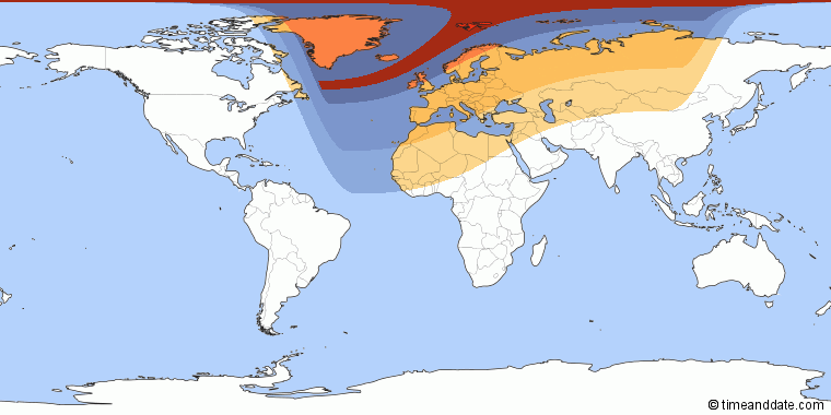 20 March 2015 — Total Solar Eclipse Path-710
