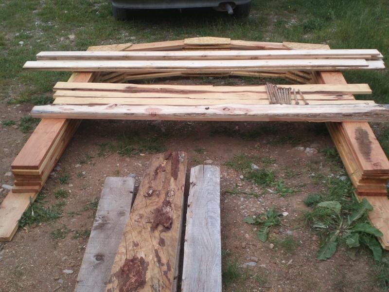 réalisation d'une petite serre en bois Img34112