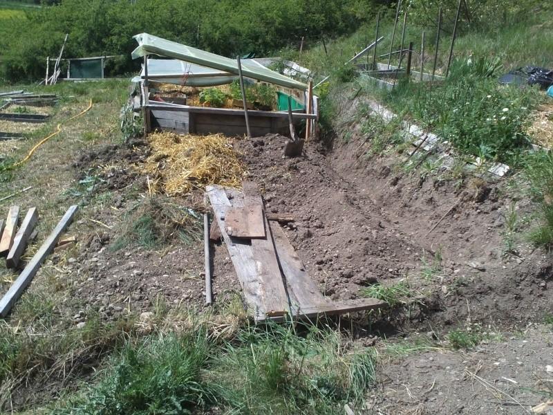 réalisation d'une petite serre en bois Img34113