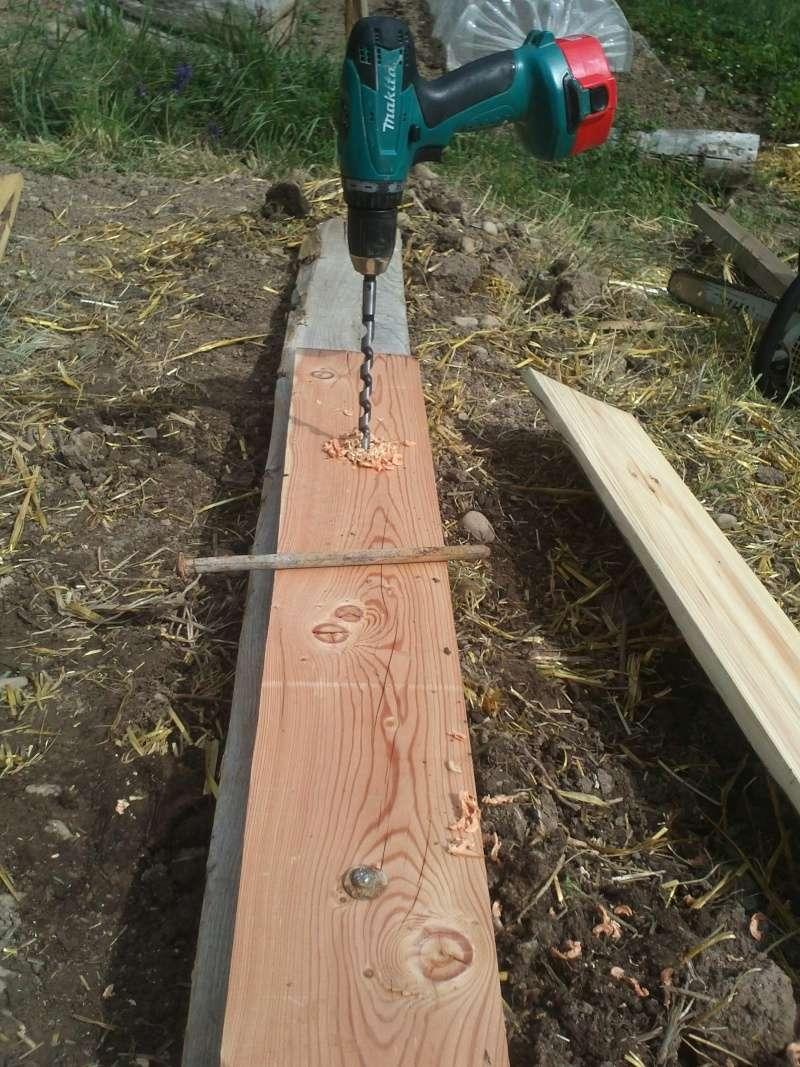 réalisation d'une petite serre en bois Img34210