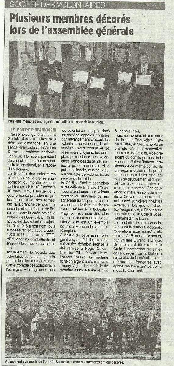 ACTIVITES DIVERSES DE LA SECTION SAVOIE ISERE - Page 3 Ag_20110