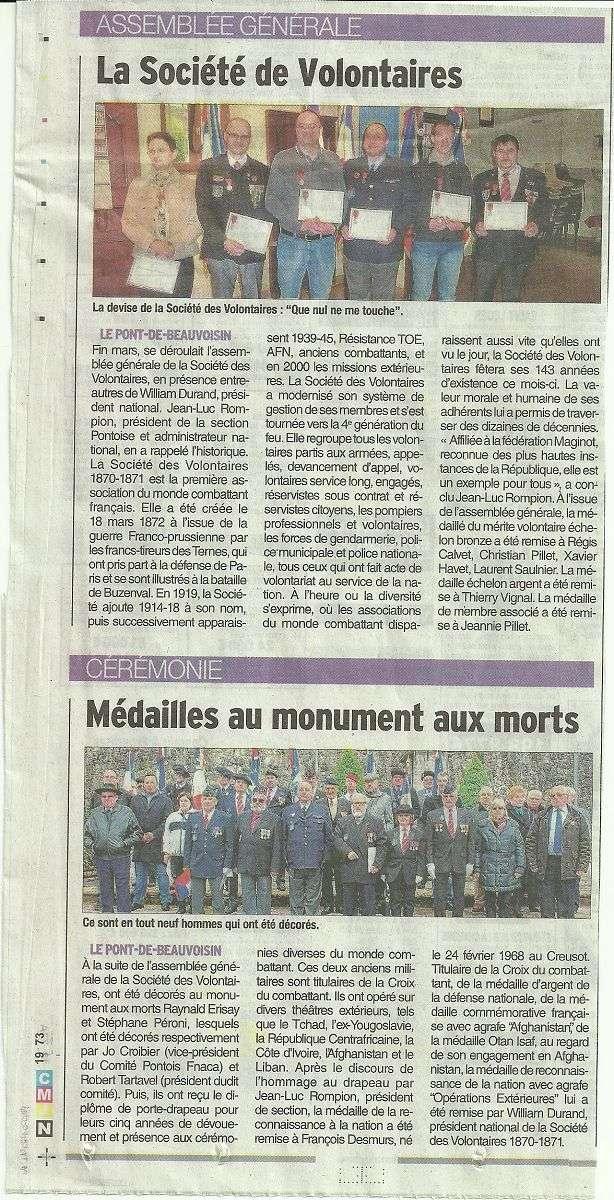 ACTIVITES DIVERSES DE LA SECTION SAVOIE ISERE - Page 3 Ag_20111
