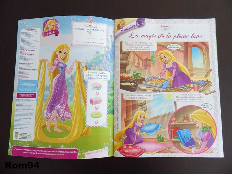 [Magazine] Disney Princesse Magazine France - Page 4 Histoi16