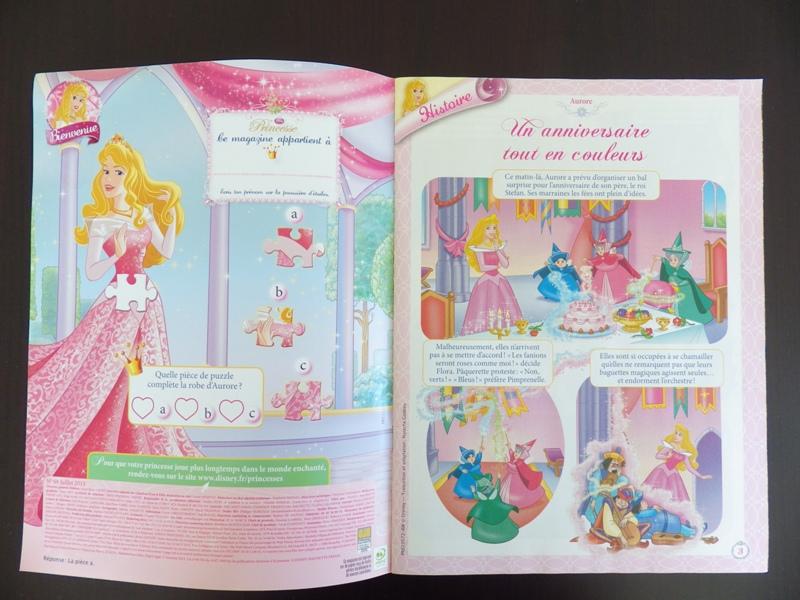 [Magazine] Disney Princesse Magazine France - Page 4 Imgp7810