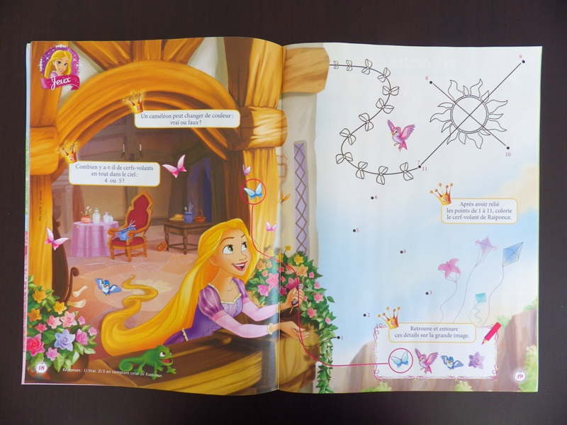 [Magazine] Disney Princesse Magazine France - Page 4 Imgp7816