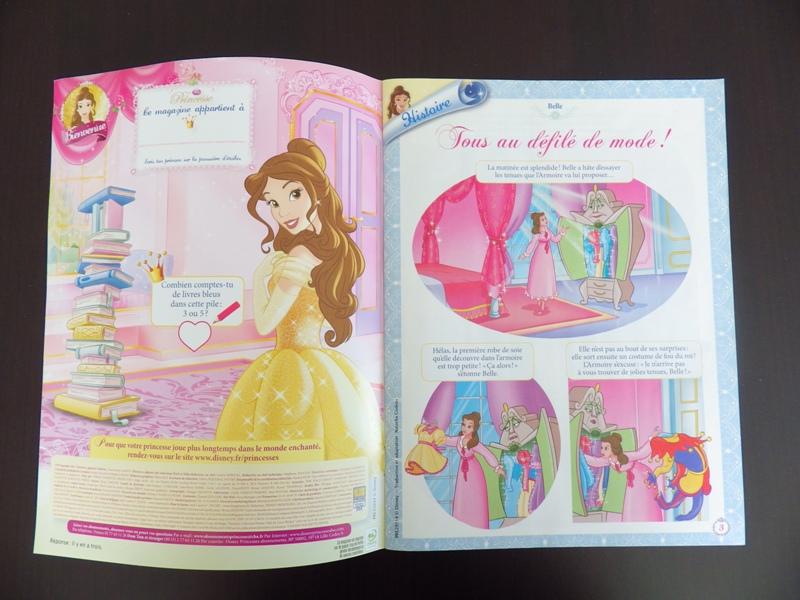 [Magazine] Disney Princesse Magazine France - Page 5 Imgp7910