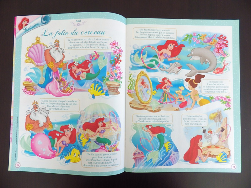 [Magazine] Disney Princesse Magazine France - Page 5 Imgp7911