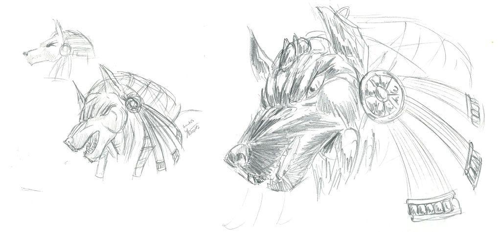 Les dessins de Gromdal - Page 5 Anubis10