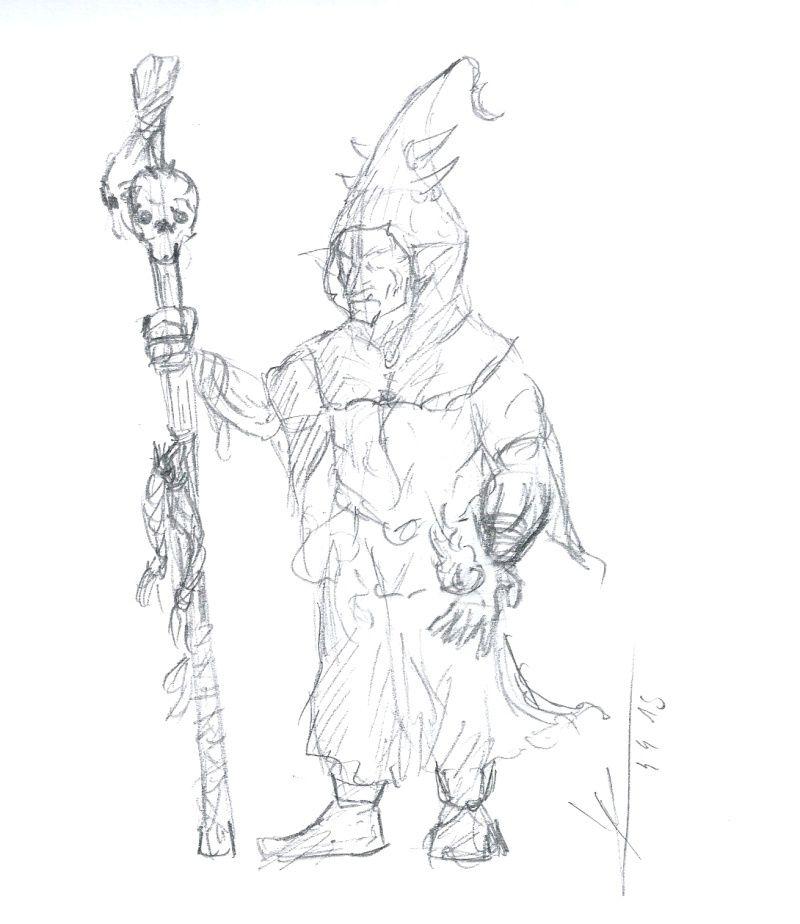 Les dessins de Gromdal - Page 4 Chaman10