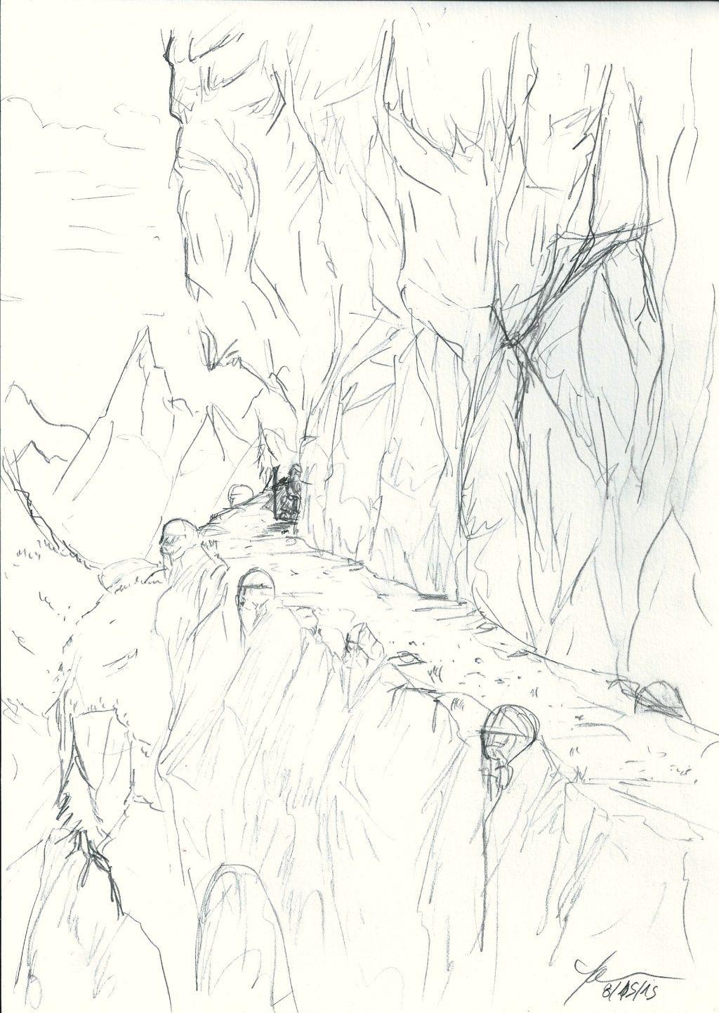 Les dessins de Gromdal - Page 5 Mounta10