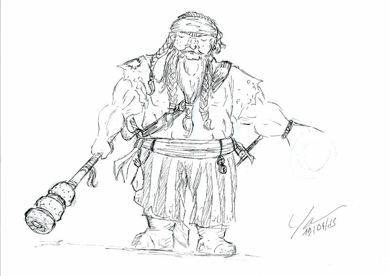 Les dessins de Gromdal - Page 4 Pirate10