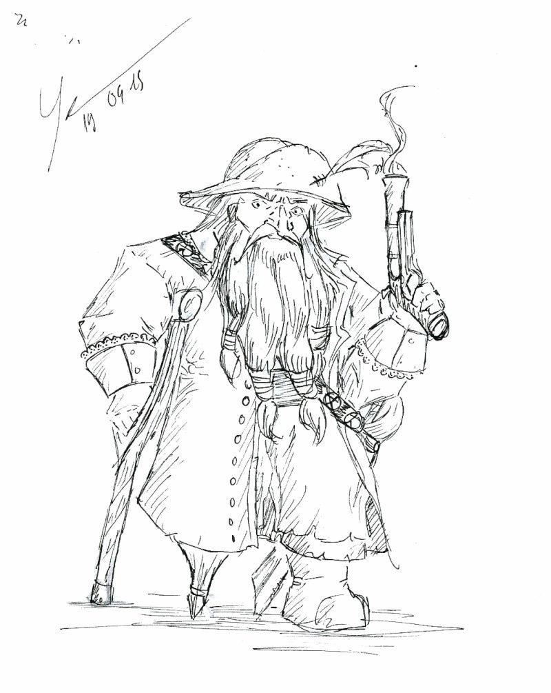 Les dessins de Gromdal - Page 4 Pirate11