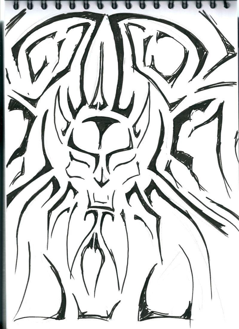 Les dessins de Gromdal - Page 4 Tatoo10