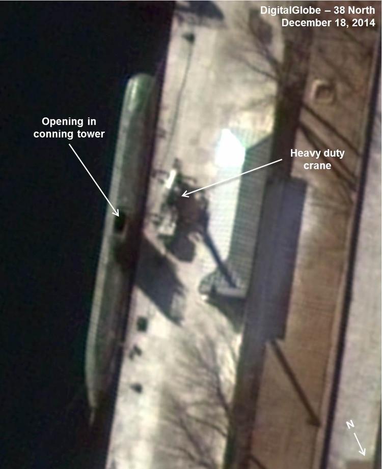 Corée du Nord : sous-marin lance-missile balistique 28206610