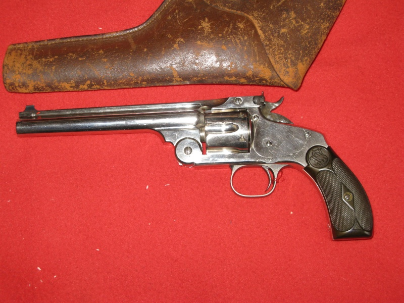 Smith & Wesson New Models N° 3 Target cal .32-44 Sw_nc313
