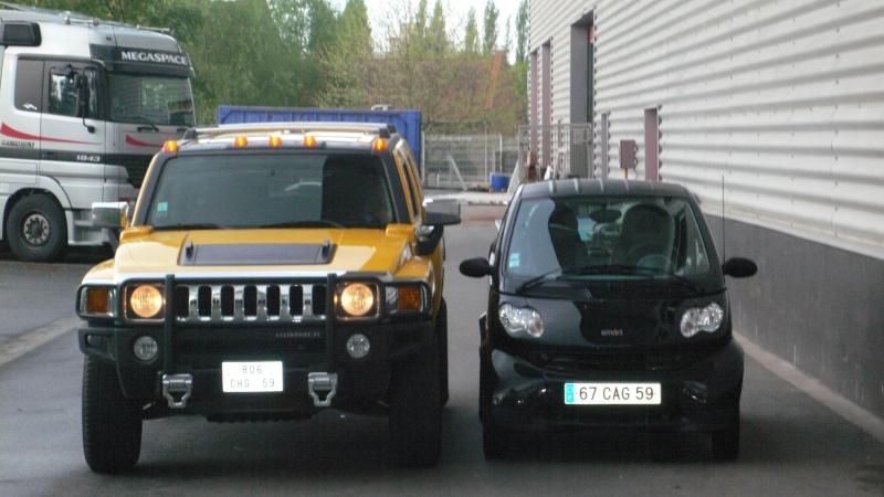 Hummer H2,  gros ou!!!   comparaison... P1020810