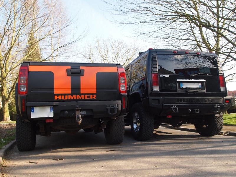 Hummer H2,  gros ou!!!   comparaison... P4122611