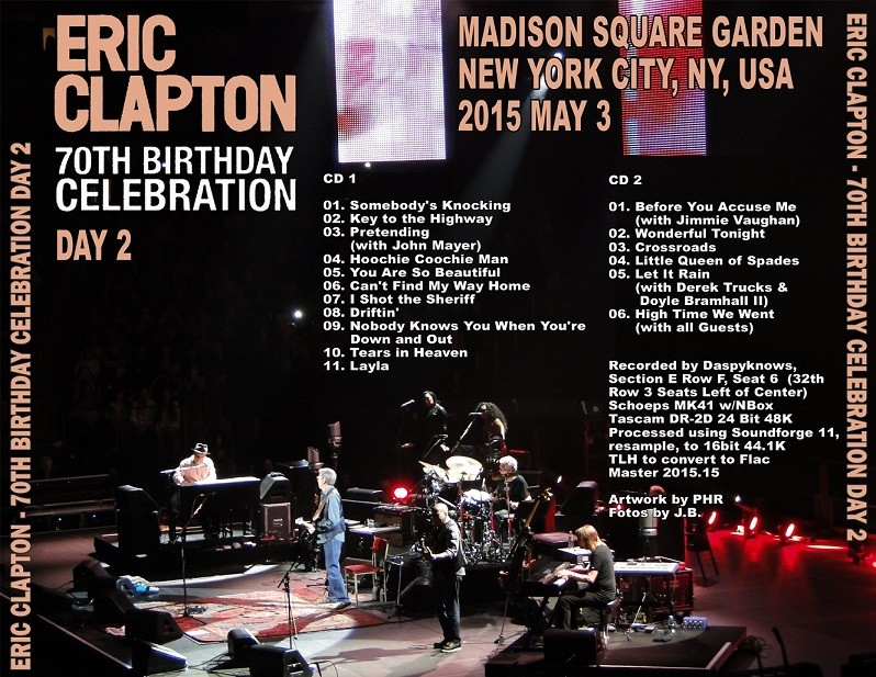 Eric Clapton 70' Birthday Special Podcast Back_210