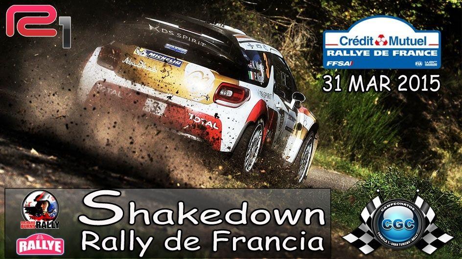 Confirmación Shakedown Rally Francia R1 Planti10