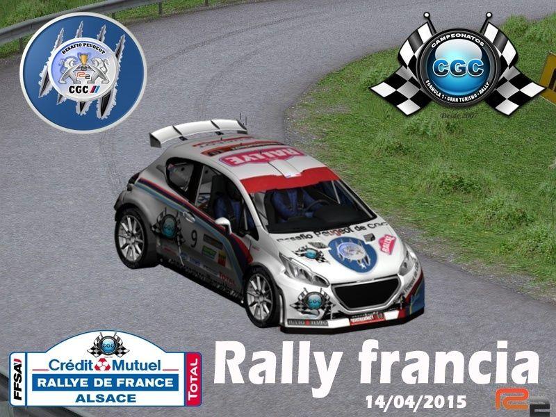 Roadbook Rally Francia  R2 Rally10