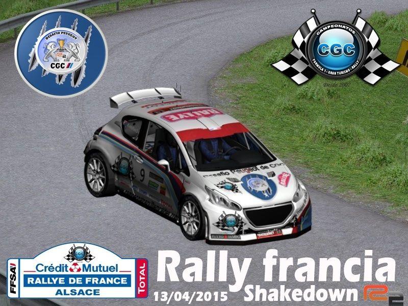 Confirmación Shakadown Rally Francia R2 Shake10