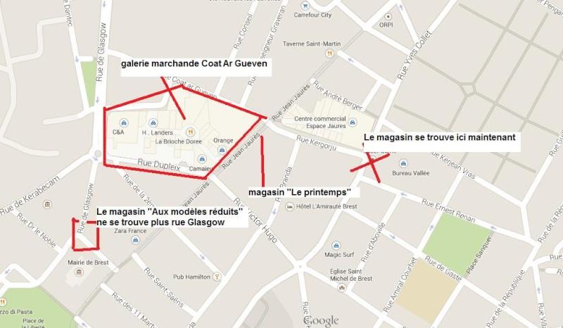 """Changement d'adresse du magasin """"Aux Modèles Réduits"""" à Brest 29200 Change10"""