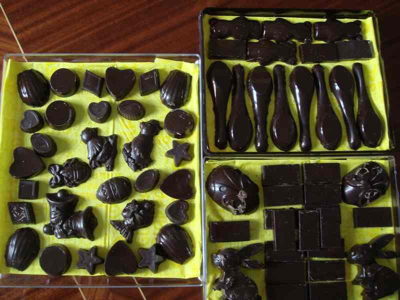 chocolats de Pâques... qui s'est risqué à en faire ? Dsc01110