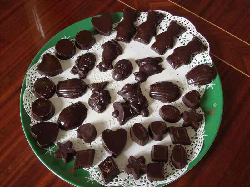 chocolats de Pâques... qui s'est risqué à en faire ? Dsc01111